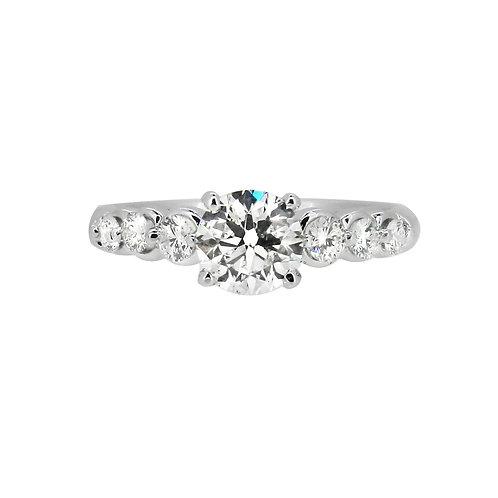18ct 0.90ct Diamond Solitaire Ring