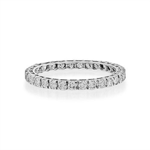 Full Set Diamond Band in 18ct WG