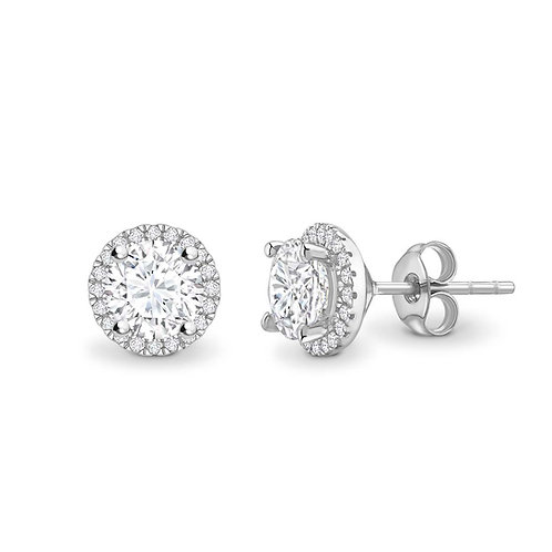0.80ct TCW Diamond Stud Earrings
