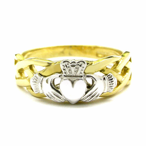 14ct Yellow Gold Ladies Unity Ring