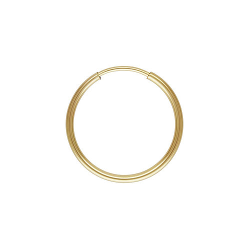 14ct Gold Filled Single 16mm Hoop