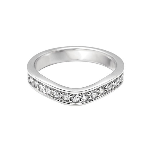 Shaped Diamond Set Band