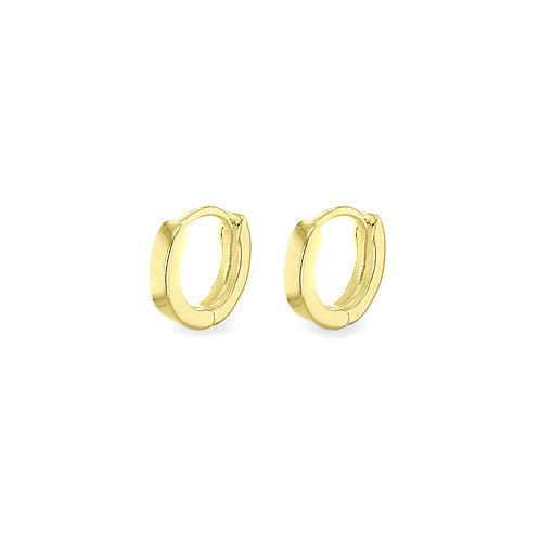 Yellow Gold Vermeil 12mm Huggie Earrings