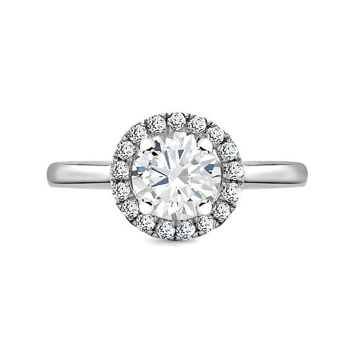 0.95ct Diamond Solitaire Ring