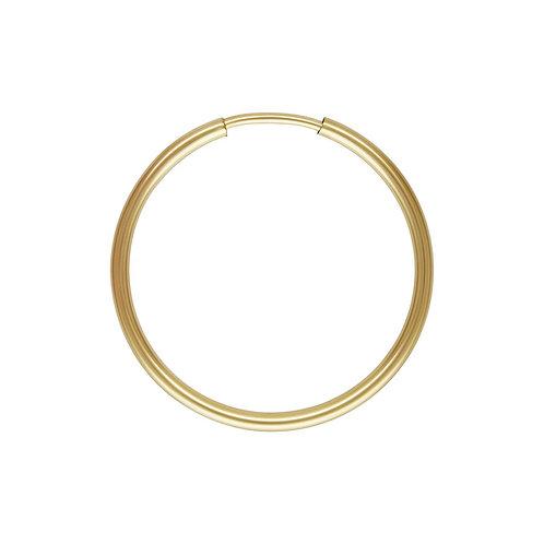 14ct Gold Filled Single 20mm Hoop