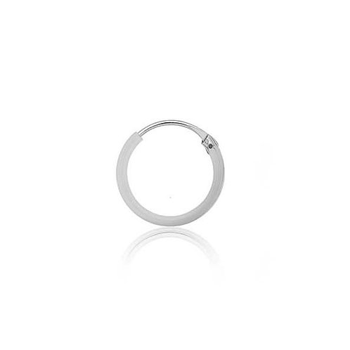 Sterling Silver 12mm Classic Hoop