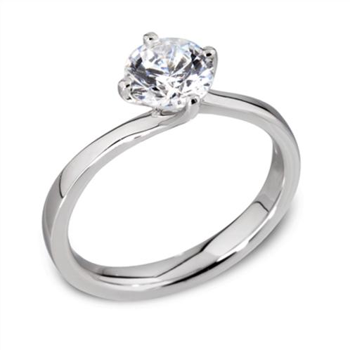 0.70ct Diamond Solitaire Ring
