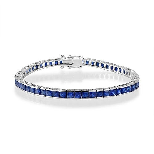 Sapphire Line Bracelet