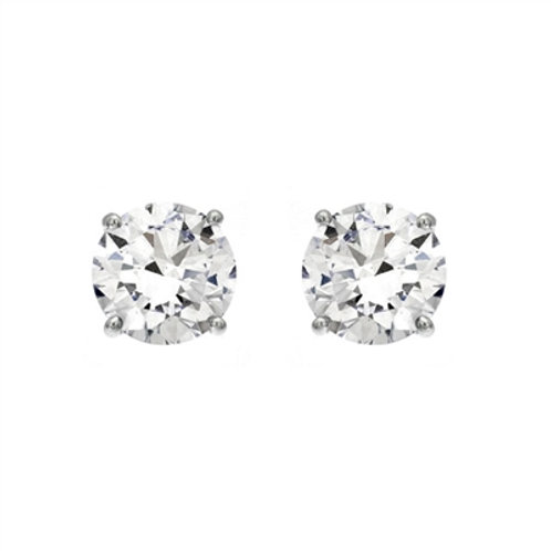 0.80ct Diamond Stud Earrings