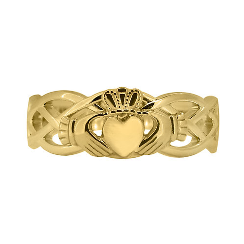 10ct Yellow Gold Ladies Unity Ring