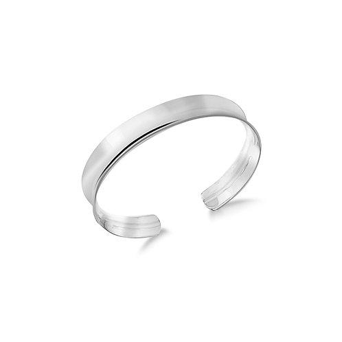 Sterling Silver Design Bangle