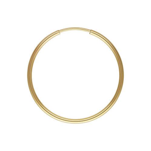 14ct Gold Filled Single 30mm Hoop