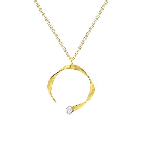 9ct Yellow Gold Double Chain Necklace