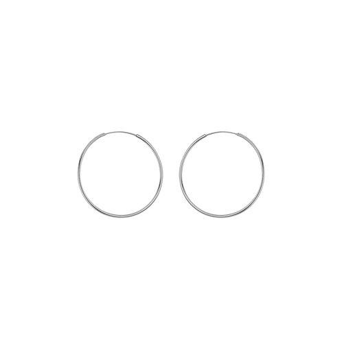 Sterling Silver 16mm Hoop Earrings