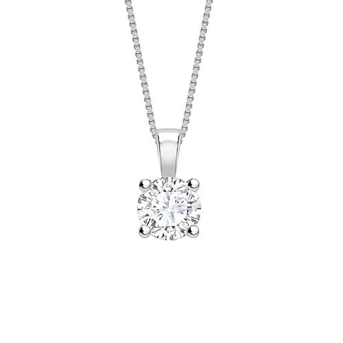 0.70ct Diamond Solitaire Pendant