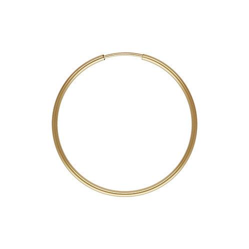 14ct Gold Filled Single 24mm Hoop