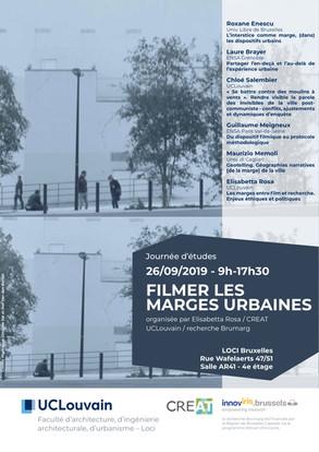 FILMER LES MARGES URBAINES