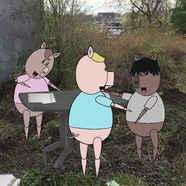 Laisse béton le conte des 3 petits cochons