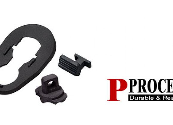 Guarder Steel Bolt Stop/Gasblock/Handguard Ring for TM SG552