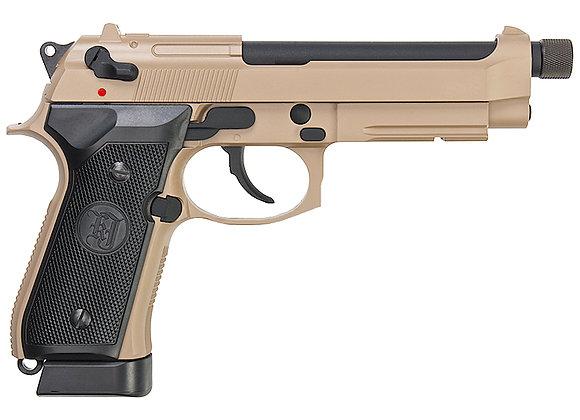 KJ WORKS M9A1 TBC Full Metal GBB Pistol (TAN, CO2)