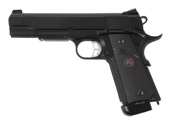 KJ Works M.E.U. KP-07 CO2 Full Metal GBB Pistol (Black)