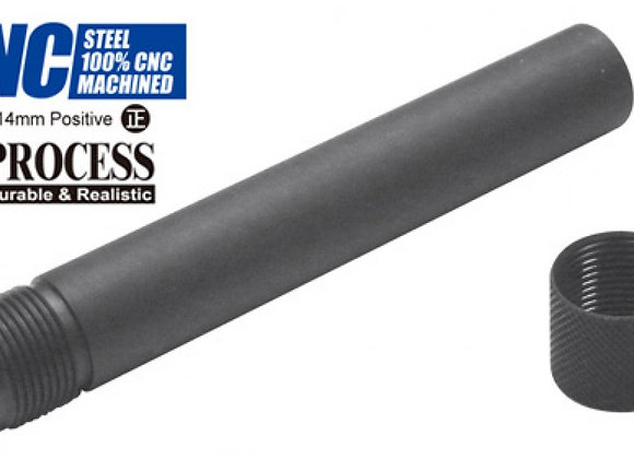 Guarder Steel Threaded Outer Barrel for Marui P226 GBB (14mm CW, Black)