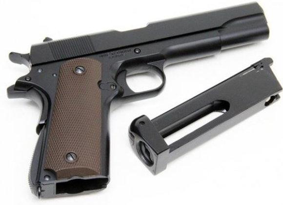KJ Works M1911A1 FULL METAL GBB Pistol(CO2)