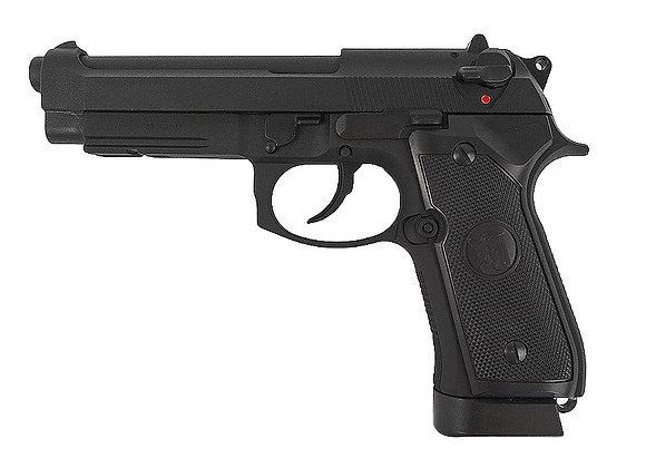 KJ Works M9A1 CO2 SPECIAL FULL METAL GBB Pistol (Black)