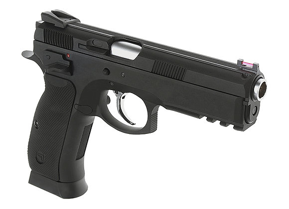 KJ Works CZ-75 SP-01 GBB Pistol(ASG Licensed) CO2 Version