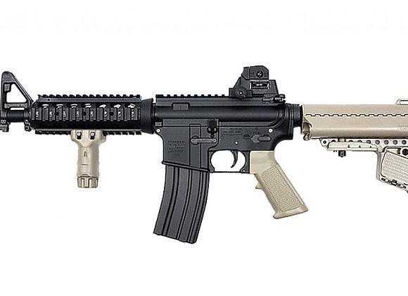 Tokyo Marui M4 CQB-R SOPMOD Assault Rifle EBB Airsoft AEG (FDE)