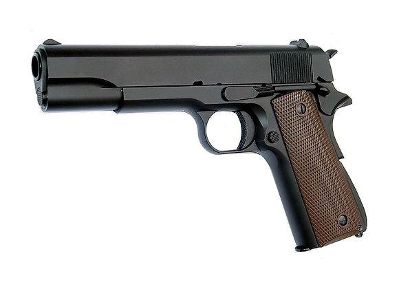 KJ Works M1911A1 FULL METAL GBB Pistol