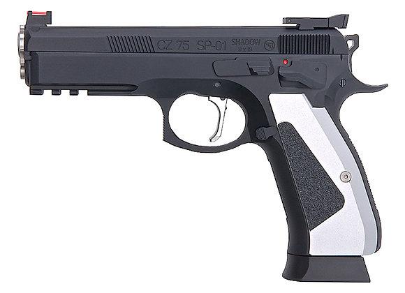 KJ WORKS CZ 75 SP-01 SHADOW ACCU CUSTOM GBB Pistol Gas Version
