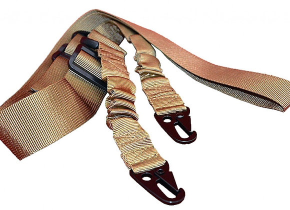 Two Point Bungee Cord Sling (Adjustable Tactical Rifle Sling)