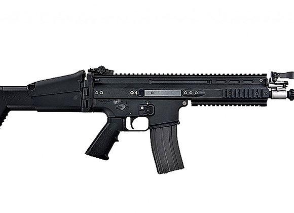 Tokyo Marui SCAR-L CQC Assault Rifle Recoil Shock AEG (MK16 Mod0, Black)