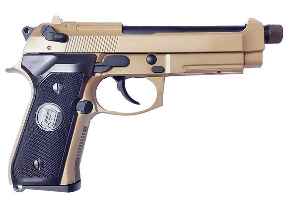 KJ WORKS M9A1 TBC Full Metal GBB Pistol (TAN, Gas)