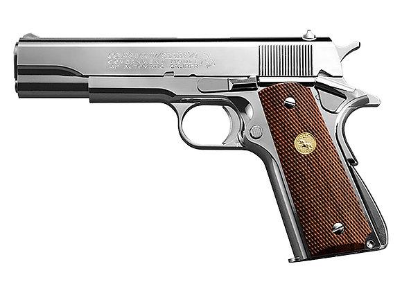 Tokyo Marui Government Mark IV Series 70 GBB Pistol (Nickel Finish)