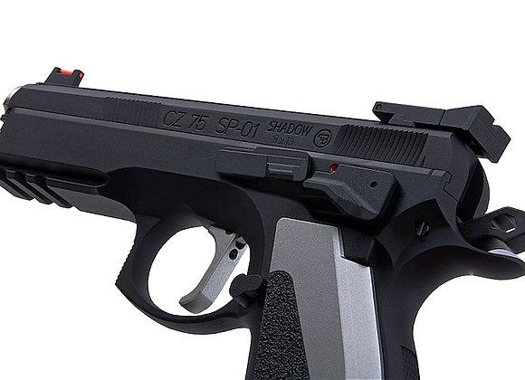 KJ WORKS CZ 75 SP-01 SHADOW ACCU CUSTOM GBB Pistol CO2 Version