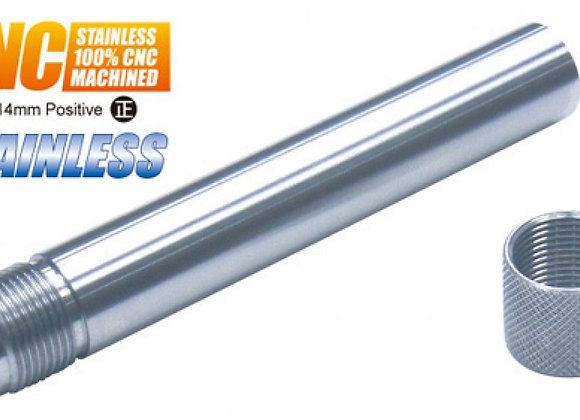 Guarder Steel Threaded Outer Barrel for Marui P226 GBB (14mm CW, Silver)