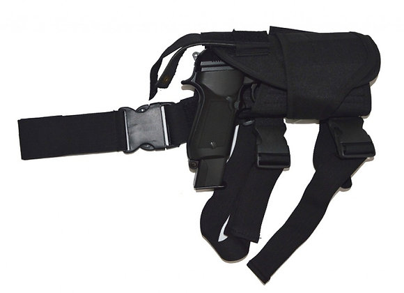 Tactical Thigh Holster (Airsoft Pistol, Black)