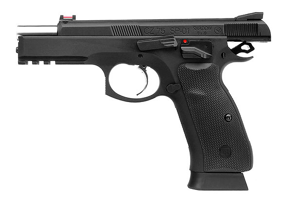 KJ Works CZ-75 SP-01 GBB Pistol(ASG Licensed)