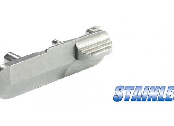 Guarder Steel Slide Stop for Marui M9/M92F (Silver)