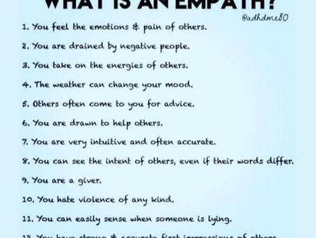 Empath - The Good, Bad and Ugly
