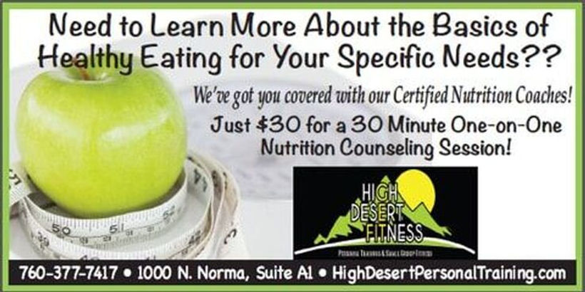 Nutritional Counseling   Ridgecrest, CA