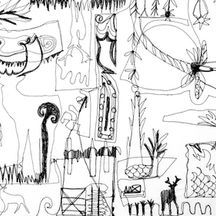 Deer Park Doodle I