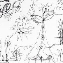 Deer Park Doodle III (detail)
