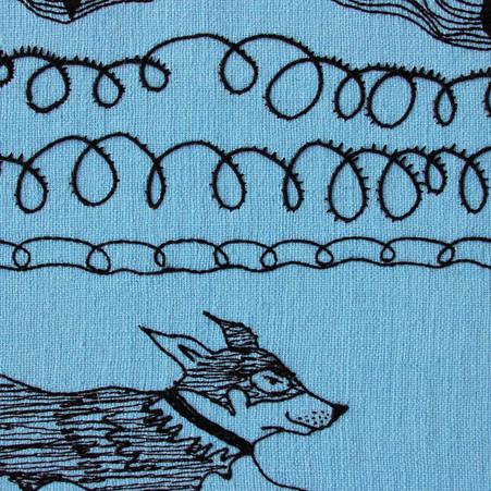 Blue Strand (detail)