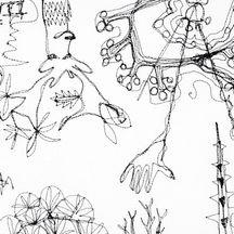 Deer Park Doodle II (detail)