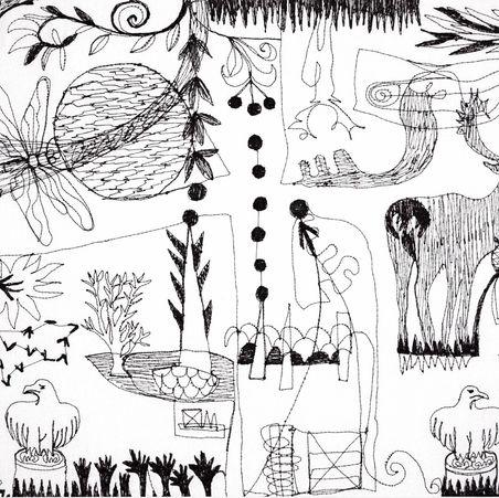 Deer Park Doodle IV