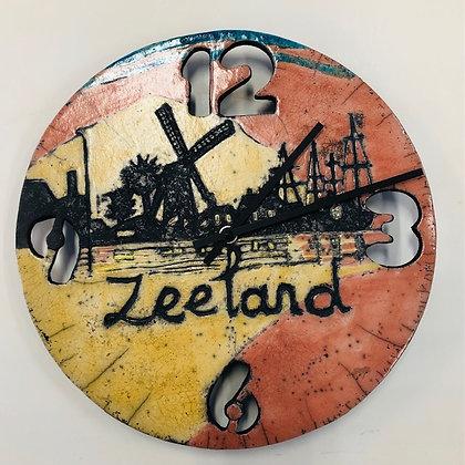 Wandklok Zeeland