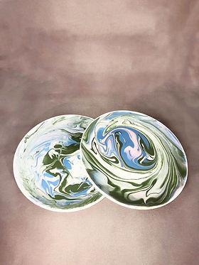 Keramiek workshop glazuren borden kunstwerk